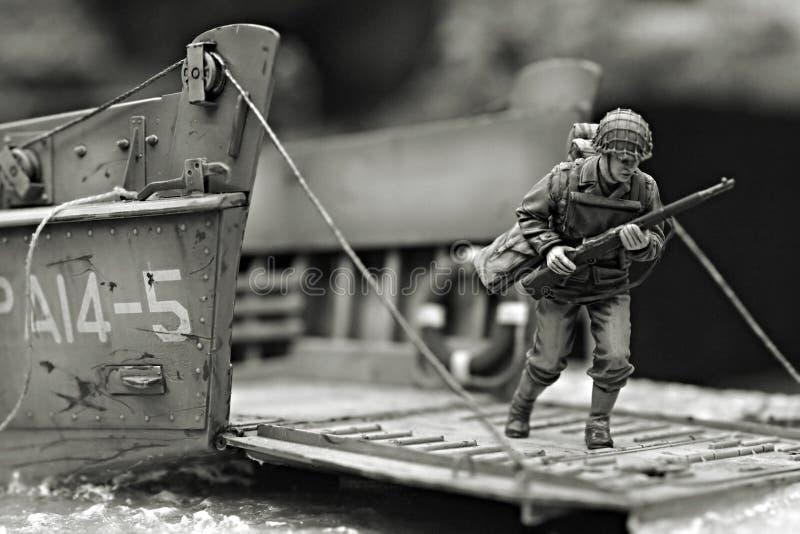premier soldat de marine photo libre de droits