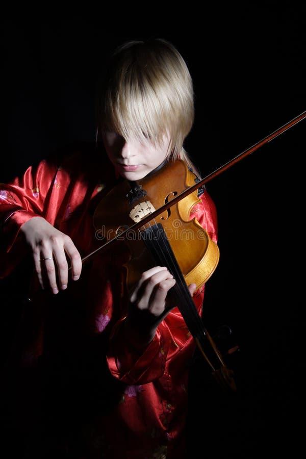 Premier violon photographie stock libre de droits