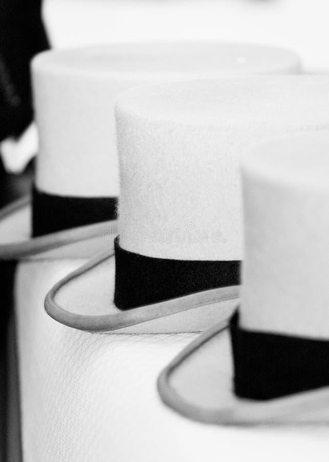 Premiers chapeaux photo stock