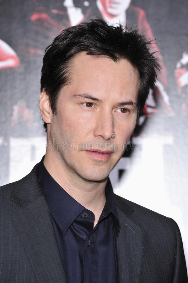 Premiers magistrats de Keanu photo stock