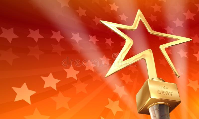 premio illustrazione vettoriale