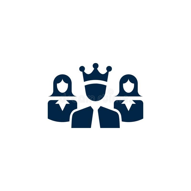 Premio, affare, prestazione, successo, gruppo, icona del vincitore royalty illustrazione gratis