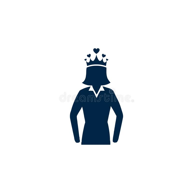 Premio, affare, prestazione, successo, gruppo, vincitore, corona sull'icona capa illustrazione vettoriale