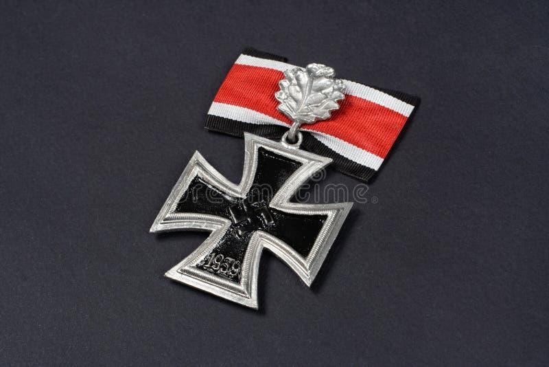 premio alemán nazi - cruz del hierro fotografía de archivo libre de regalías