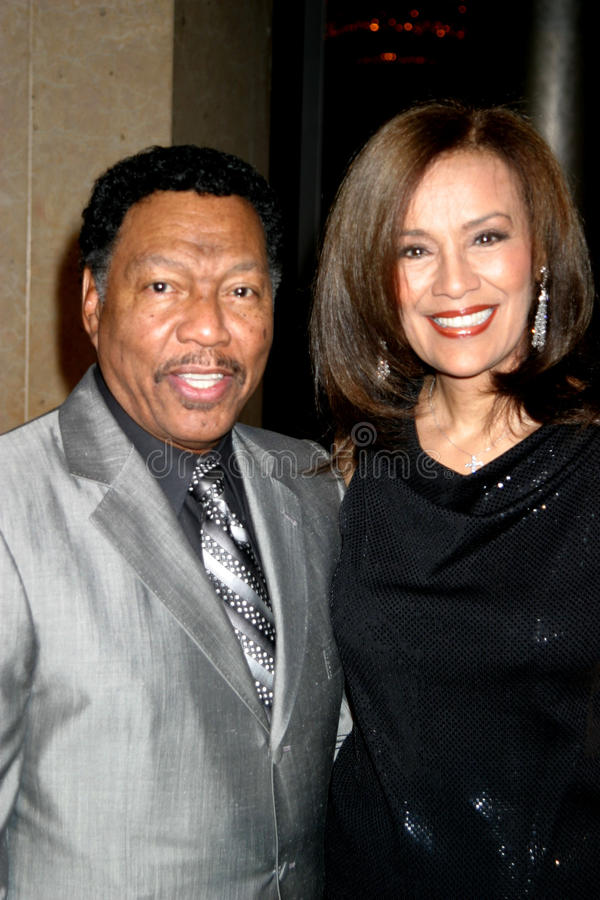 Billy Davis, Marilyn McCoo fotos de archivo libres de regalías