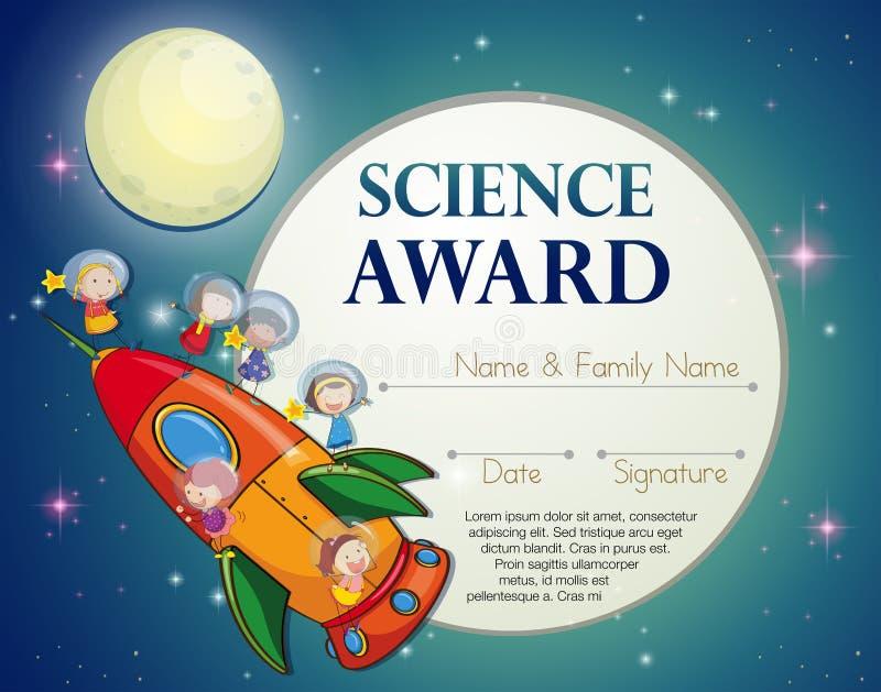 Premio de la ciencia libre illustration