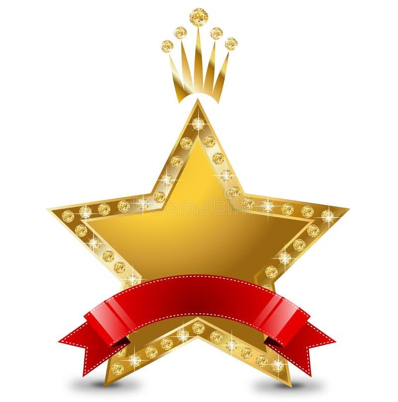Premio de la estrella ilustración del vector