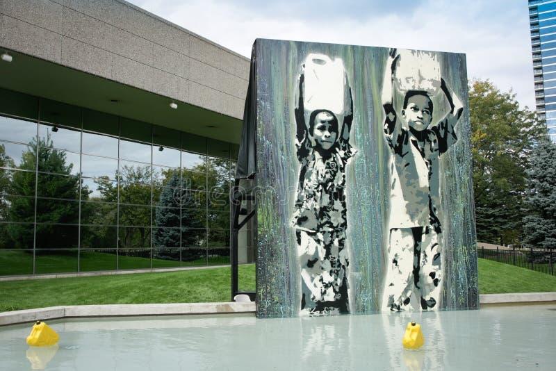 Premio del arte Waterprize 2010 fotografía de archivo libre de regalías