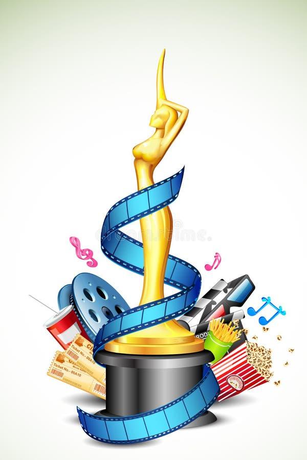 Premio del cinematografo illustrazione vettoriale