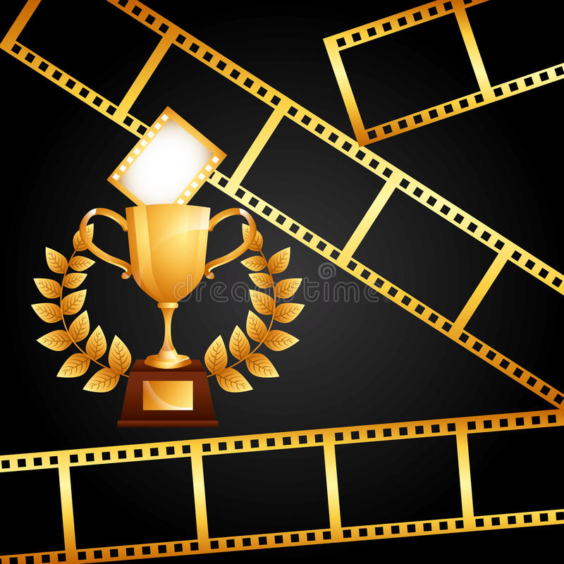 Premio del film illustrazione vettoriale