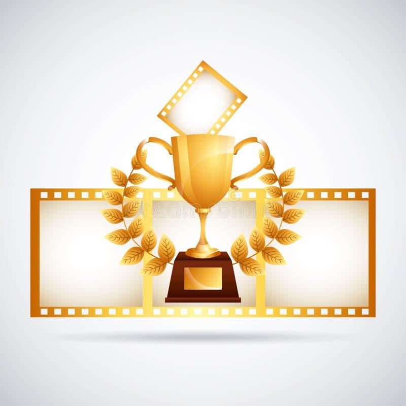 Premio del film royalty illustrazione gratis