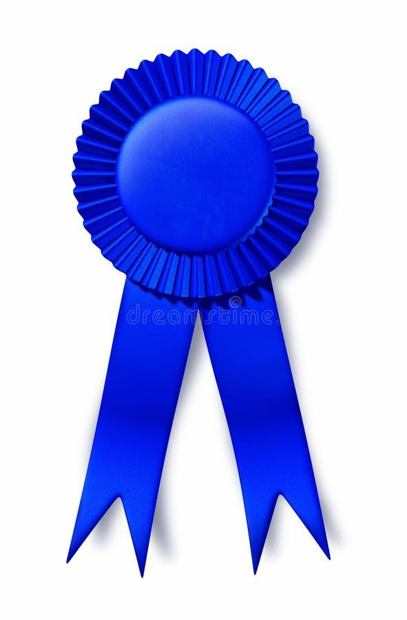 Premio del posto del premio del nastro blu primo illustrazione di stock