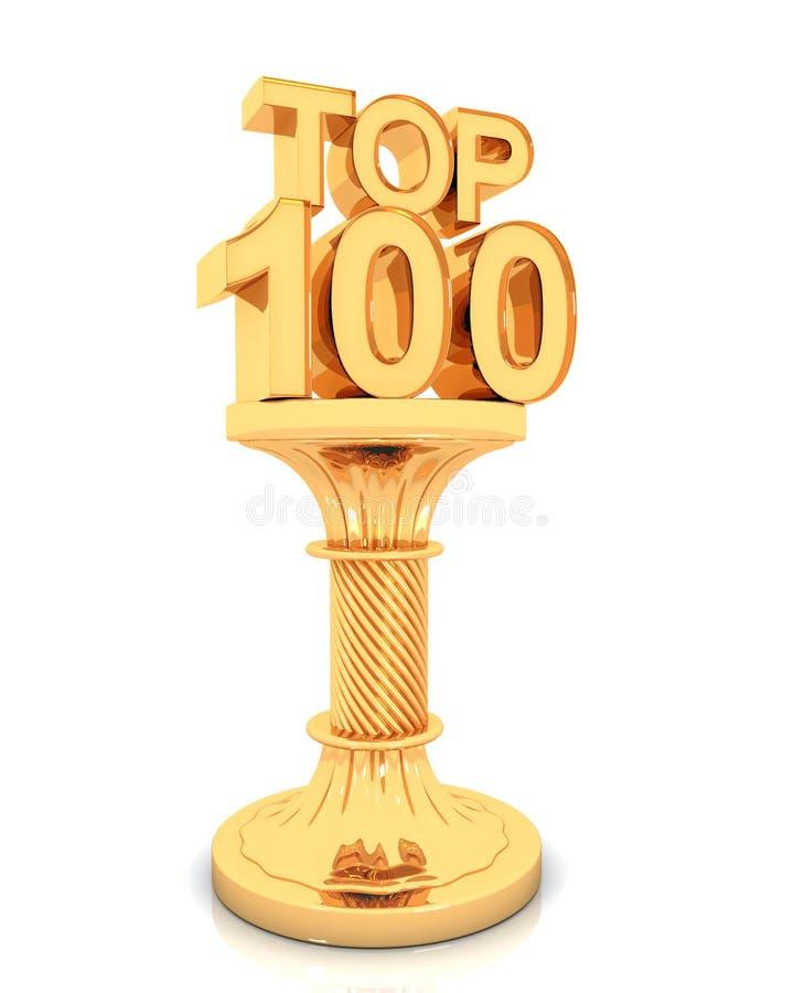 Premio del principale 100 royalty illustrazione gratis