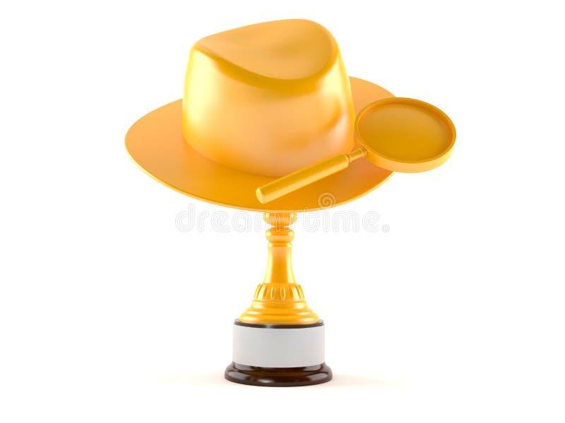 Premio dell'agente investigativo illustrazione vettoriale