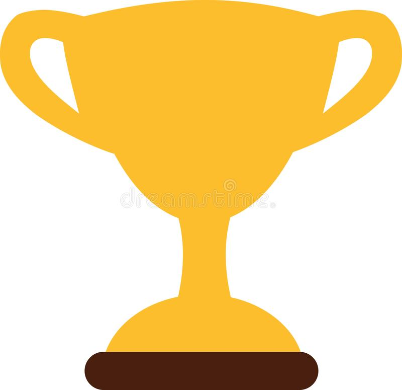 Premio dell'icona del trofeo royalty illustrazione gratis