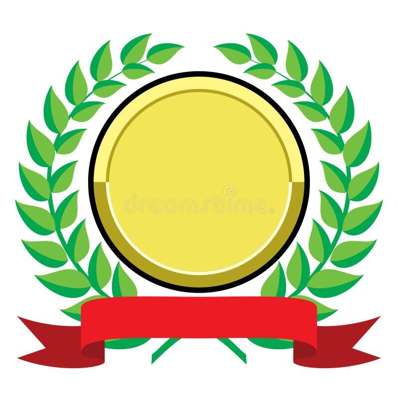Premio dell'oro royalty illustrazione gratis