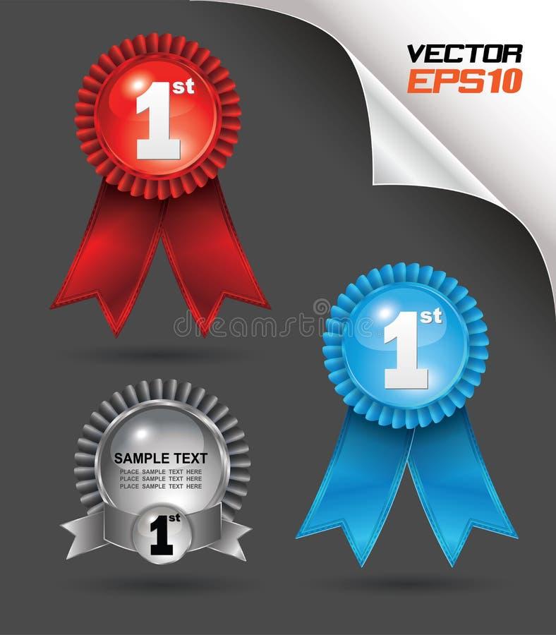 premio della modifica 3D illustrazione vettoriale