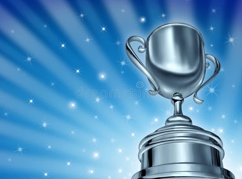 Premio della tazza di campione illustrazione vettoriale