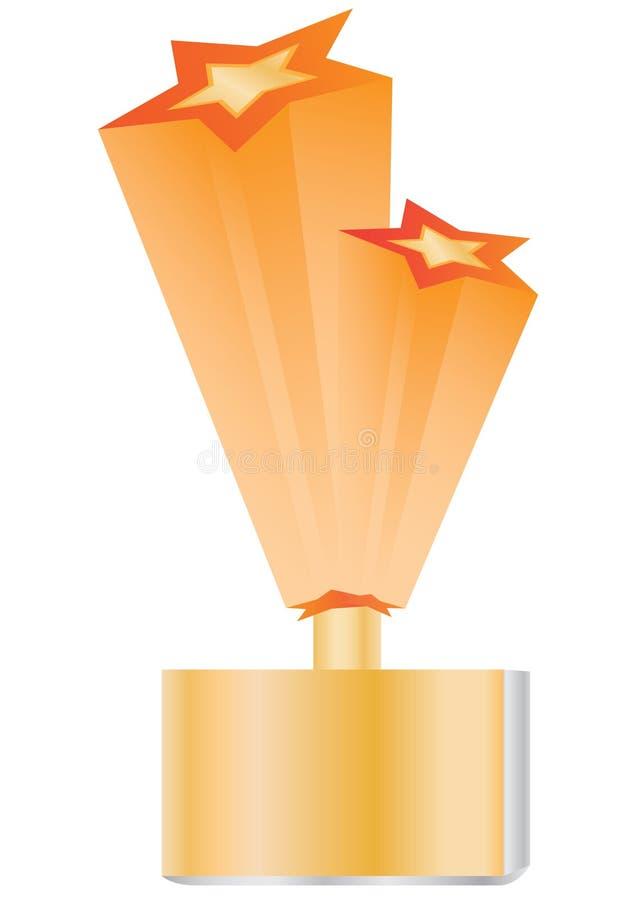 Premio delle stelle illustrazione di stock