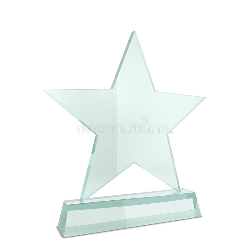 Premio di vetro royalty illustrazione gratis