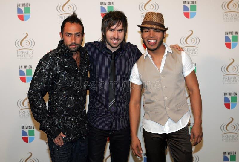 Premio Lo Nuestro show 2009 royaltyfria bilder