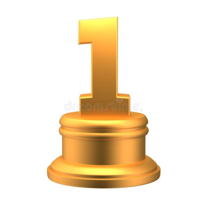 Premio número 1 imágenes de archivo libres de regalías