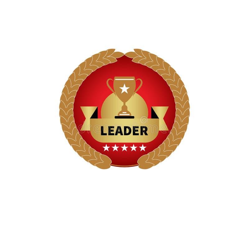 Premio rosso con la tazza royalty illustrazione gratis