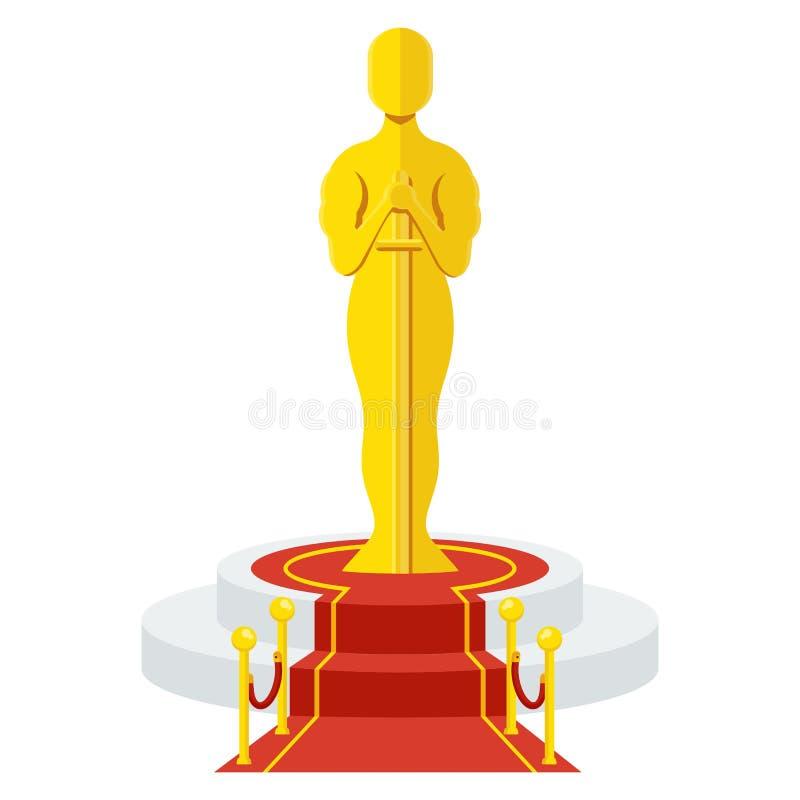 Premio sul podio royalty illustrazione gratis