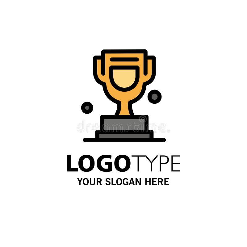 Premio, taza, trofeo, negocio Logo Template de Canadá color plano ilustración del vector