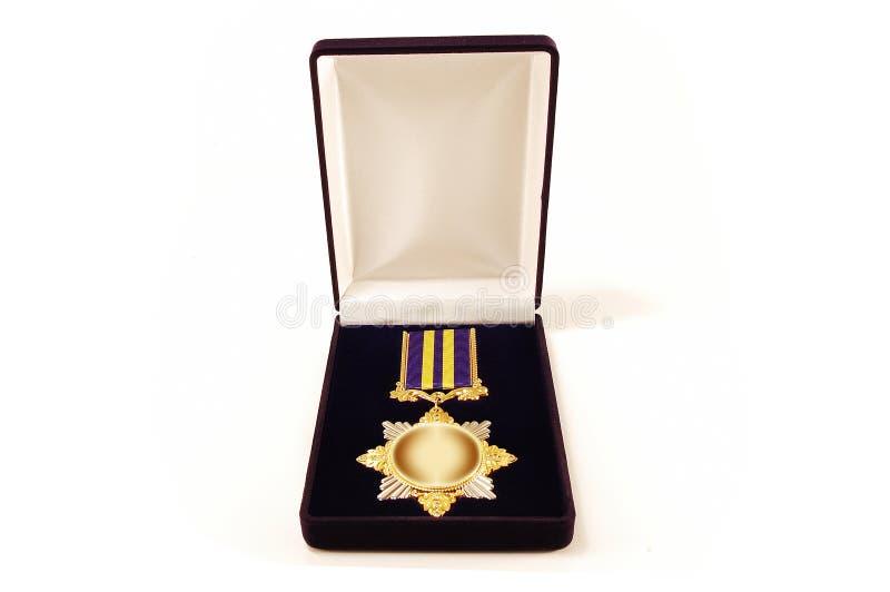 Premio in un caso fotografia stock