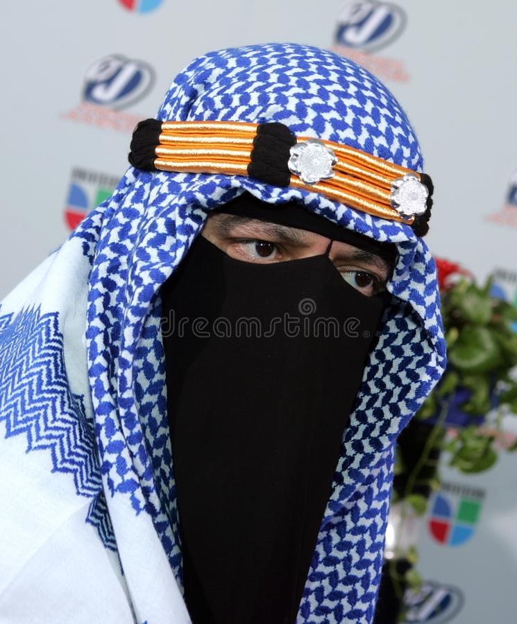 2009 Premios Juventud Awards. The Taliban arrives for the 2009 Premios Juventud Awards at the University of Miami BankUnited Center in Coral Gables, Florida on stock image