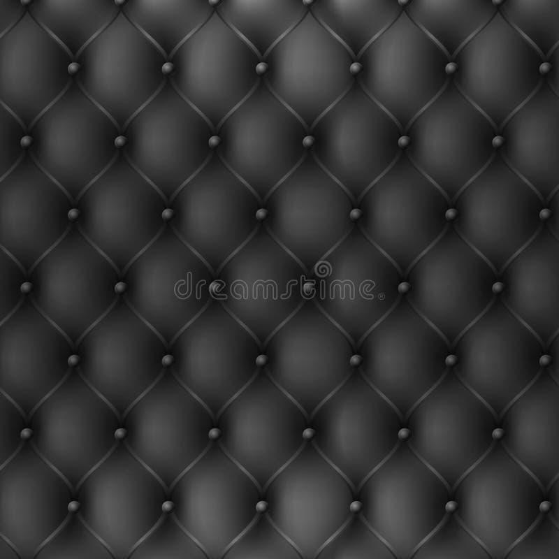 Premium dark fabric texture background royalty free illustration