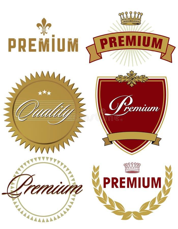 Premium image. Six 'Premium' brand-name images