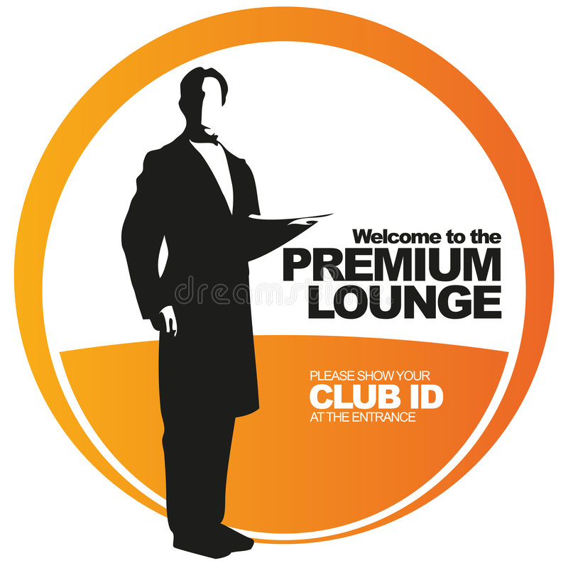 Download Premium Lounge Vector Label Stock Vector - Image: 8357319