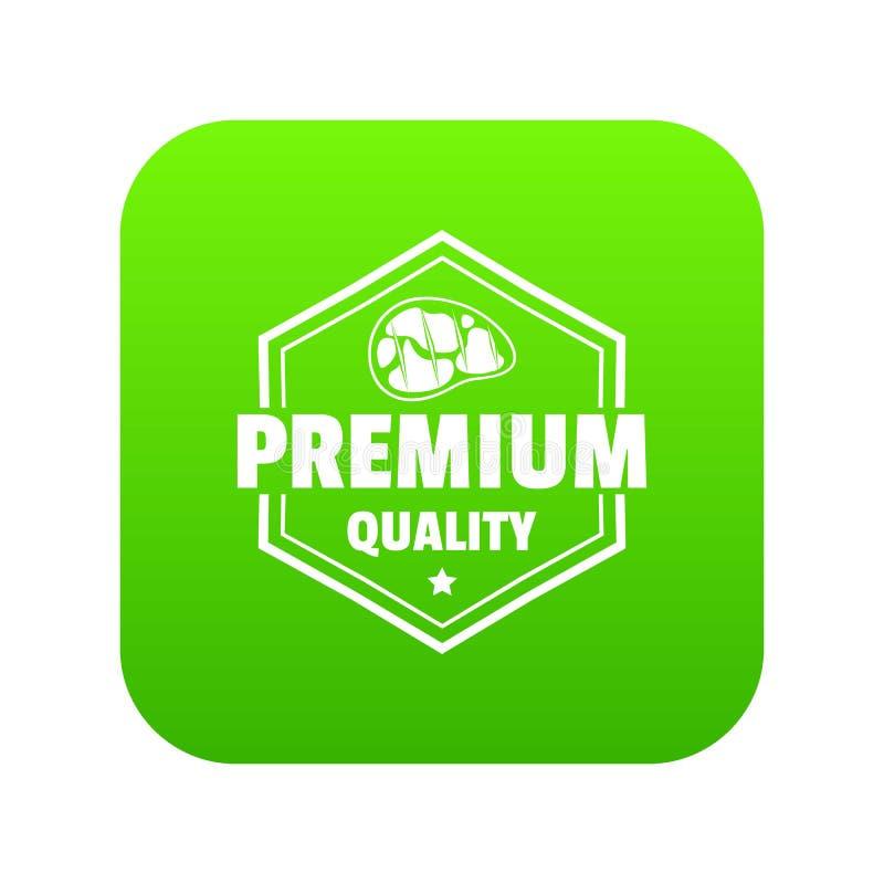 Meat Premium Quality Logo Template, Vintage Label Colorful