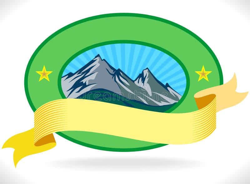 Download Premium - Mountain Label stock vector. Image of alpine - 24436601