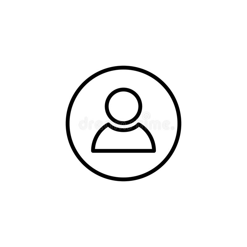Download Premium People Icon Or Logo In Line Style. Stock Photo - Image of leader, female: 102476054