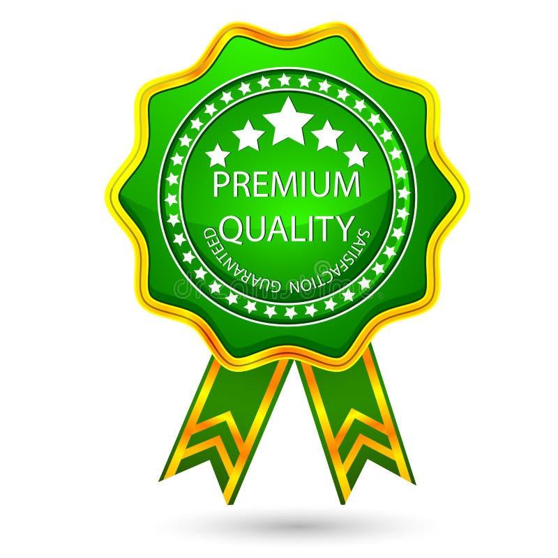 Premium Quality Badge royalty free illustration