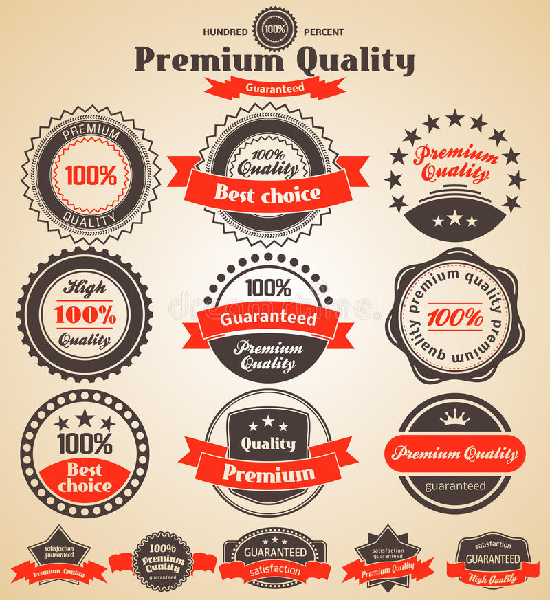 Download Premium Quality Labels stock vector. Illustration of commitment - 27052114