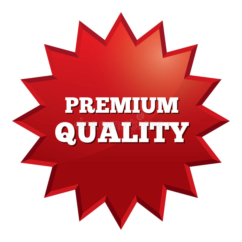 Premium Quality Star. Special Offer Vector Tag. Stock