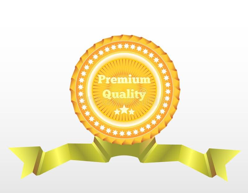 Premium Quality vector label. Eps10 stock illustration