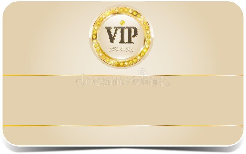Premium vip card. Premium vip glossy card for web sites