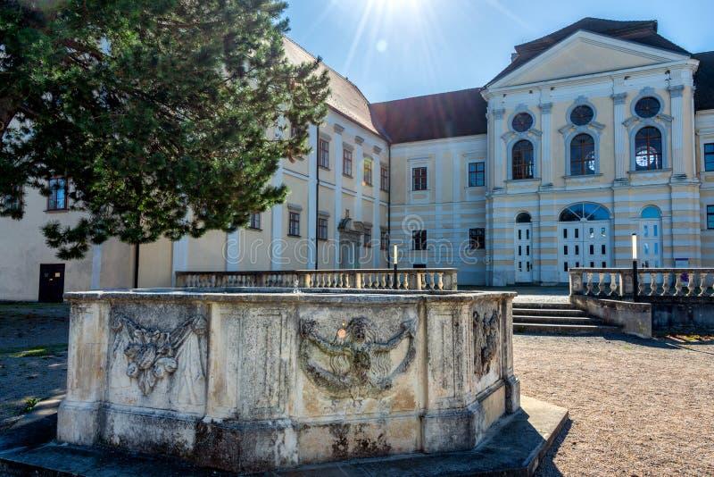 Premonstratensian-Kloster, Geras stockfoto