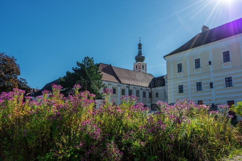 Premonstratensian-Kloster, Geras stockbilder