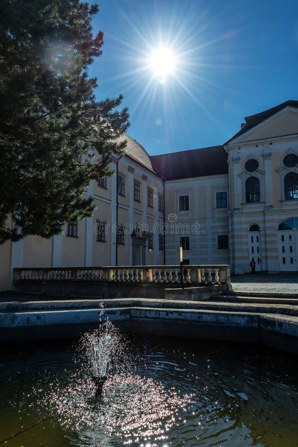 Premonstratensian-Kloster, Geras stockfotos