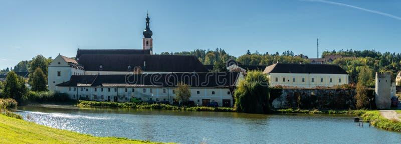 Premonstratensian-Kloster, Geras stockbild