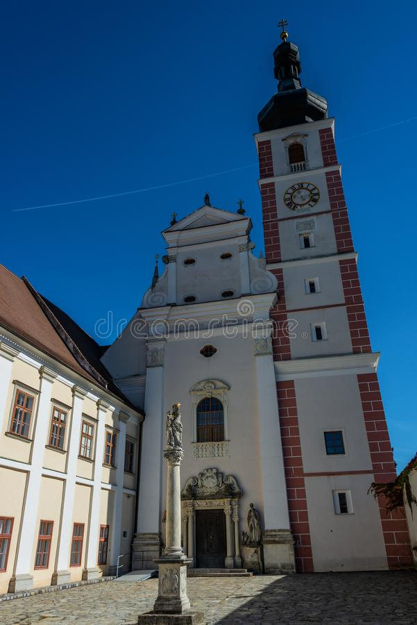 Premonstratensian-Kloster, Geras stockfotografie