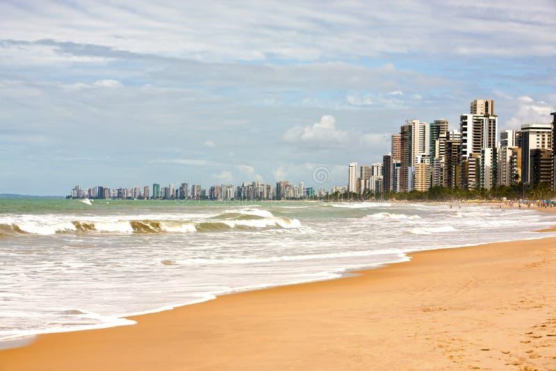 Prenambuco el Brasil de la costa de Recife fotografía de archivo