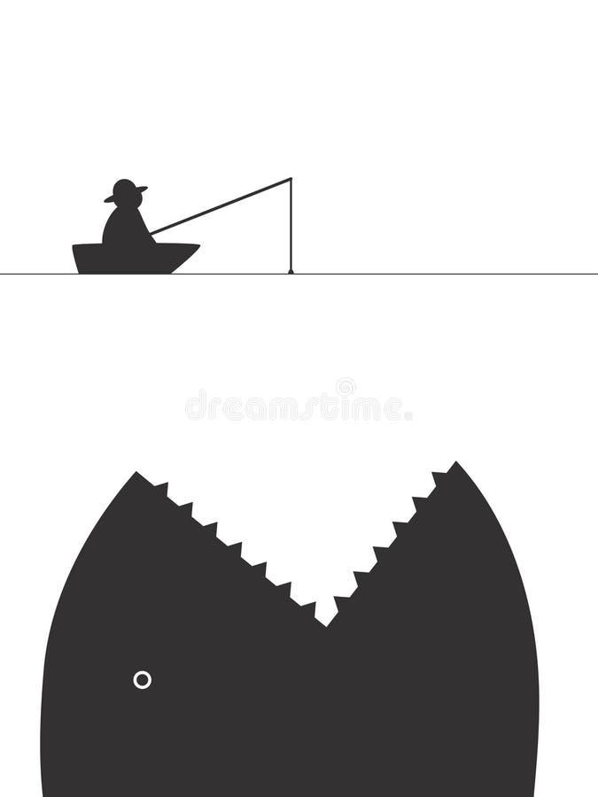 Prendedor afortunado ilustração do vetor