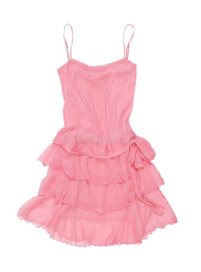 Prendisole rosa fotografia stock
